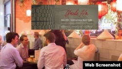 Trang web của nhà hàng Uncle Ho