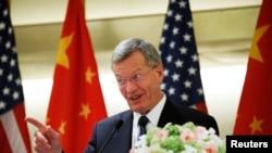 前美驻华大使博卡斯