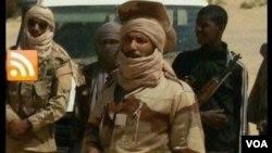 Un combattant blessé, photographie de la Plateforme, au Mali.