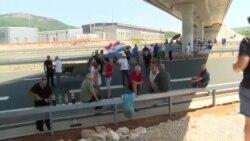 Nekadašnji vojnici blokirali granični prijelaz Bijača