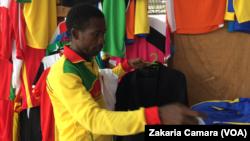 Mohamed Syla, tailleur de Guinée Sport.