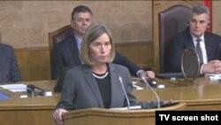 Šeficu EU diplomatije Federiku Mogerini naslediće na toj poziciji Žozef Borel, Foto: VOA
