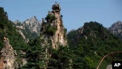 依照南北韓平壤聯合宣言,將恢復南韓人前往北韓金剛山的旅遊