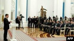Дмитрий Медведев на встрече с представителями незарегистрированных партий