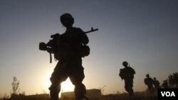 Americki vojnici u Kandaharu, Juni 22. 2011.