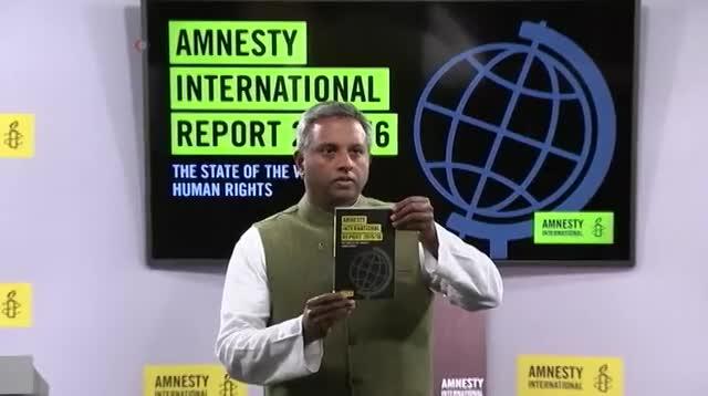 Ежегодный доклад Amnesty International