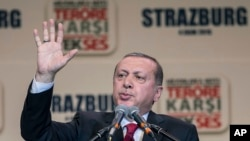 Presiden Turki Recep Tayyip Erdogan (Foto: dok. AP Photo/Jean-Francois Badias)