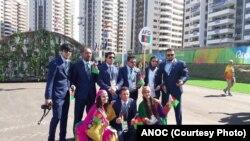 تیم المپیک افغانستان در ریو دی جنیرو برازیل