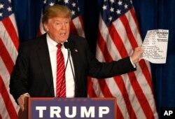 Ngày càng đông những nhà lãnh đạo đảng Cộng hoà và nhà tài trợ có ảnh hưởng mạnh mẽ phản đối tư cách ứng cử viên của ông Trump.