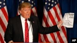 دونالد ترمپ نامزد حزب جمهوریخواه در انتخابات ریاست جمهوری امریکا است