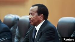 Perezida wa Kameruni Paul Biya