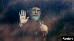 Ulama Tahir ul-Qadri yang memiliki banyak pengikut di Pakistan (Foto: dok).