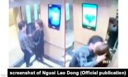 hồi tháng 3/2014 xảy ra vụ một người đàn ông tấn công tình dục một cô gái trong thang máy ở Hà Nội