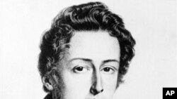 Frederic Chopin (1810-1849), Polish composer and pianist of the romantic school
