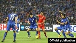 ထိုင္းအသင္း ျမန္မာအသင္းတို႔ ကစားစဥ္ (Myanmar Football Federation )
