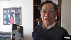 前中共總書記趙紫陽秘書 鮑彤 (資料照片)