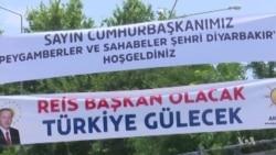 Erdogan Addresses Rally in Diyarbakir