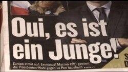 Europe Celebrates Macron Victory