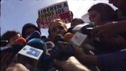 """""""La medida fue porque a Leopoldo lo torturaban en Ramo Verde"""": Lilian Tintori"""