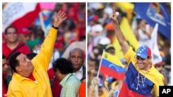 Hugo Chávez y Henrique Capriles se comunicaron por teléfono y por su cuentas de twitter al final de la jornada electoral, el domingo 7 de octubre.
