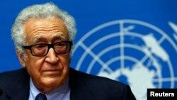 Utusan PBB dan Liga Arab, Lakhdar Brahimi (Foto: dok).