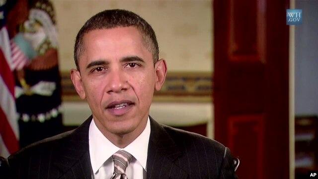 Barack Obama delivers his weekly address, 20 Nov 2010