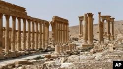 敘利亞中部古城帕爾米拉