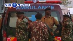 Bodies of policemen killed in weekend ambush in northern Kenya arrive in Nairobi.
