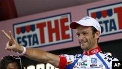 Mantan pemegang gelar juara Giro d'Italia, Michele Scarponi, mengakui awal tahun ini dua kali menjalani tes di bawah pengawasan Dokter Ferrari (Foto: dok).
