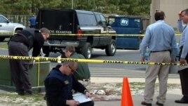 Las autoridades revisaron todo el edificio de la corte del condado de Wilmington, Delaware.
