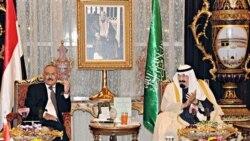 صالح: قدرت در يمن به عبدالربه منصورهادی تفويض خواهد شد