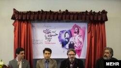 نشست خبری کنسرت حسین علیزاده و گروه هم آوایان صبح سه شنبه در تالار وحدت