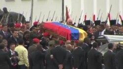 查韋斯遺體被安放在軍事博物館