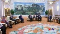 習近平蒂勒森北京會晤為川普訪華鋪路