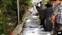 Жертви ймовірної хімічної атаки в Сирії