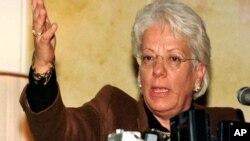 Carla del Ponte, penyidik kejahatan perang PBB mendesak penyelidikan kejahatan perang di Suriah (foto: dok).