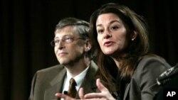 Yayasan Bill dan Melinda Gates akan menyediakan 50 juta dolar untuk pemberantasan Ebola (foto: dok).
