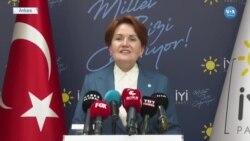 Akşener: ''Türkiye Bu Zevzekliklerden Çok Çekti''