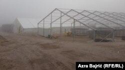 Reception camp for migrants Lipa, Bihać Bosnia and Herzegovina