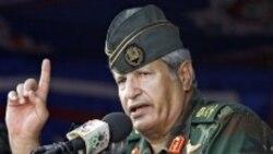 فرمانده ارشد مخالفان قذافی کشته شد