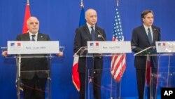 جلسۀ وزرای ائتلاف بین المللی ضد داعش امروز در پاریس پایتخت فرانسه برگزار شد