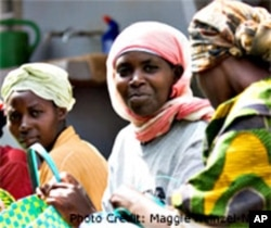 "Today, ""Women for Women International"" is helping Rwandan women brutalized by the 1994 genocide to rebuild their lives and take a leadership role in healing the country's wounds"