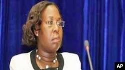 Benvinda Levy, Ministra da Justiça de Moçambique (Arquivo)