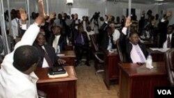 Ayiti: Sena ayisyen an pandan yon seyans