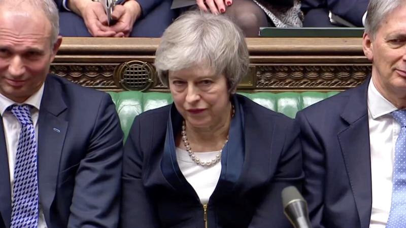 برطانوی پارلیمان میں 'بریگزٹ ڈیل' مسترد