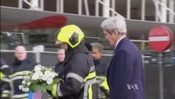 Concerns Linger About Belgium's Security as Kerry Pays Tribute