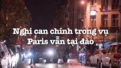 Nghi can chính trong vụ Paris vẫn tại đào