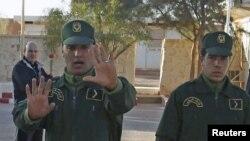 Des gendarmes algériens, 19 janvier 2013.