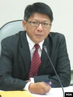民进党立委 潘孟安(美国之音张永泰)
