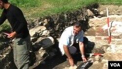 Fouilles archéologiques.
